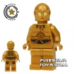 LEGO Star Wars Mini Figure C-3PO Wires