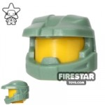 BrickForge Halo Space Marine Helmet Sand Green