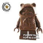LEGO Star Wars Mini Figure Ewok Brown Hood