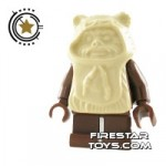 LEGO Star Wars Mini Figure Ewok Tan Hood
