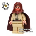 LEGO Star Wars Mini Figure Obi-Wan Kenobi Gold Headset