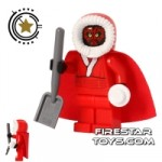 LEGO Star Wars Mini Figure Santa Darth Maul