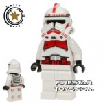 LEGO Star Wars Mini Figure Shock Trooper White Hips