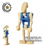 LEGO Star Wars Mini Figure Battle Droid Pilot Blue