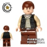 LEGO Star Wars Mini Figure Han Solo Black Jacket