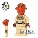 LEGO Star Wars Mini Figure Mon Calamari Officer