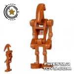 LEGO Star Wars Mini Figure Battle Droid Dark Orange