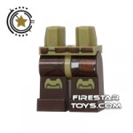 LEGO Mini Figure Legs Star Wars Bounty Hunter Armour