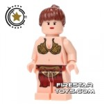LEGO Star Wars Mini Figure Princess Leia Jabbas Slave Flesh
