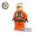 LEGO Star Wars Mini Figure Luke Pilot Flesh