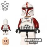 LEGO Star Wars Mini Figure Clone Trooper Captain