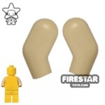 LEGO Mini Figure Arms Pair Tan