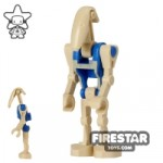 LEGO Star Wars Mini Figure Battle Droid Pilot Blue Torso