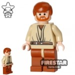 LEGO Star Wars Mini Figure Obi-Wan Kenobi Headset