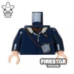 LEGO Mini Figure Torso Star Wars Han Solo Parka Jacket