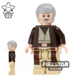 LEGO Star Wars Mini Figure Obi-Wan Kenobi Gray Beard