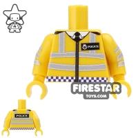 Custom Design Torso British Police | Toy Parts : Over One