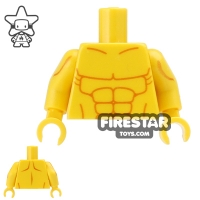 Custom Design Torso Muscles Yellow | Toy Parts : Over One