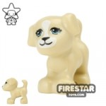 LEGO Animals Mini Figure Small Dog Tan