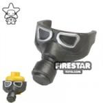 BrickForge Gas Mask Steel/Silver