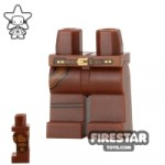 LEGO Mini Figure Legs Sheriff Gun Holster