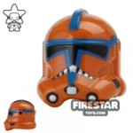 Arealight KX Trooper Helmet Dark Orange