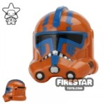 Arealight HDCS Trooper Helmet Dark Orange