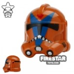 Arealight DGM Trooper Helmet Dark Orange