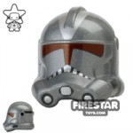 Arealight Shadow Trooper Helmet Silver