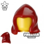 Arealight Hood Dark Red Flexible Plastic