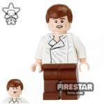 LEGO Star Wars Mini Figure Han Solo White Shirt