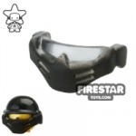 BrickForge Ballistic Mask Black and Trans Clear