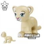 LEGO Animals Mini Figure Lion Cub Tan
