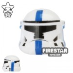 Arealight HVC Combat Helmet White and Blue