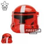 Arealight HVC Combat Helmet Red