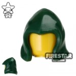 Arealight Hood Dark Green Flexible Plastic