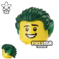 LEGO Parted Bangs Minifig Braided in Back w// Elf Ears Hair Female Long
