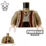 LEGO Mini Figure Torso Arabian Robe Dark Tan