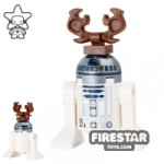 LEGO Star Wars Mini Figure Christmas Reindeer R2-D2