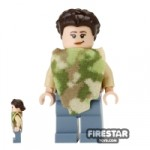 LEGO Star Wars Mini Figure Princess Leia Camouflage Cape