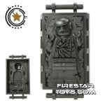 LEGO Star Wars Mini Figure Han Solo In Carbonite Block