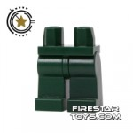 LEGO Mini Figure Legs Dark Green