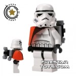 LEGO Star Wars Mini Figure Stormtrooper Tatooine with Pauldron And Re-Breather
