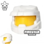 BrickForge Halo Space Marine Helmet White