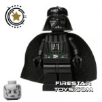 LEGO Star Wars Mini Figure Darth Vader White Pupils