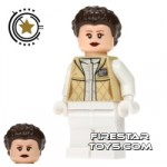 LEGO Star Wars Mini Figure Princess Leia Hoth Outfit