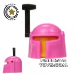 Arealight Mando Helmet Pink